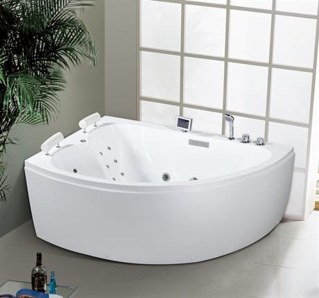 Hemavan höger massagebadkar fullutrustat två personer | www.pm-hem.se