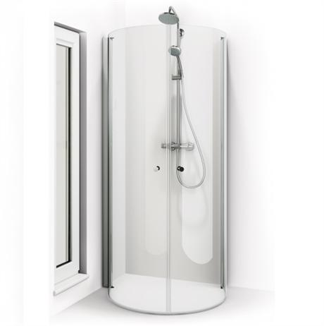 Inredning duschdörrar rak vägg : Macro Skagen U Duschhörna 900x700x1950 | www.pm-hem.se