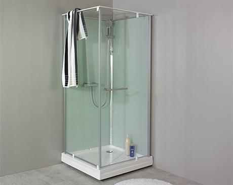 Stor duschkabin